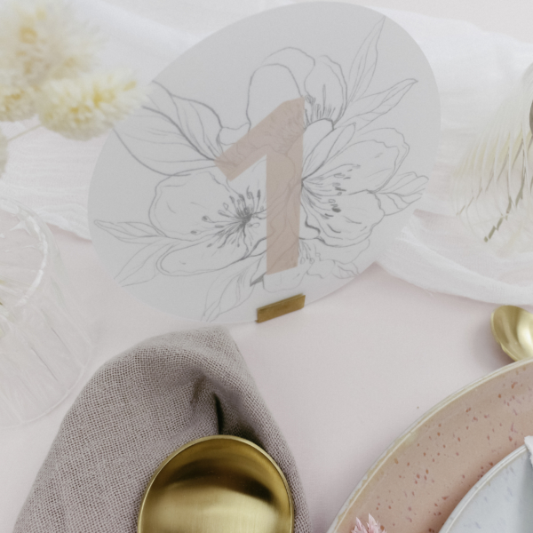 Miss Hanami Elegance Tischnummer