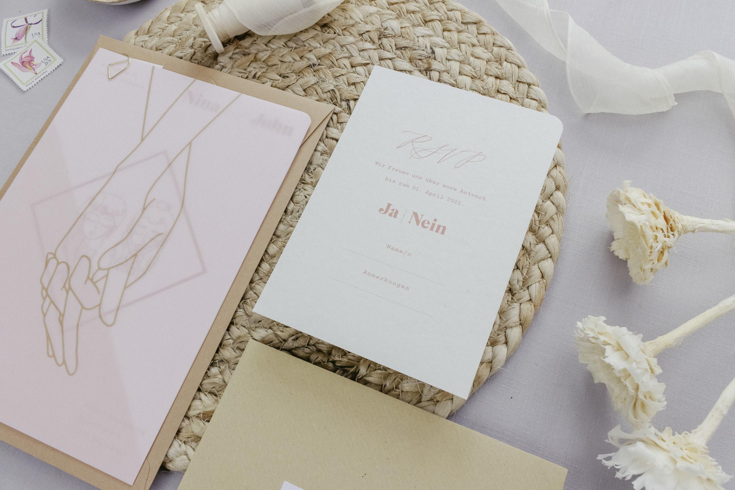 Miss Hanami Illustration Einladung