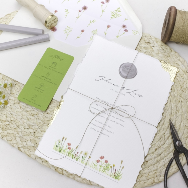 Miss Hanami Nature Love Einladung