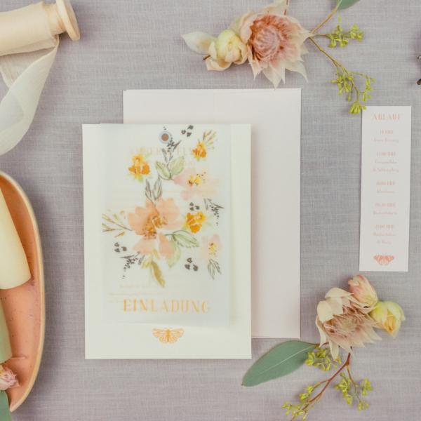 Miss Hanami Sweet Garden Einladung