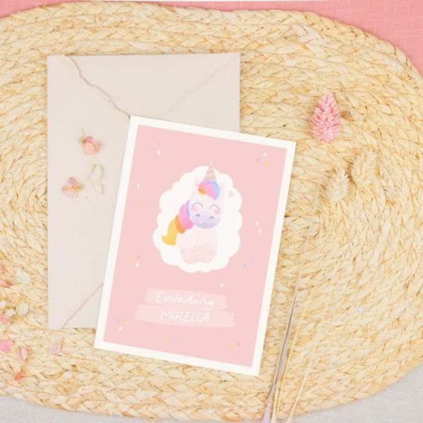 Miss Hanami Kindergeburtstag personalisiert