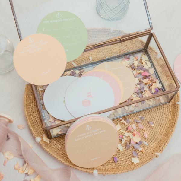 Miss Hanami Mini Gästebuch Pastell