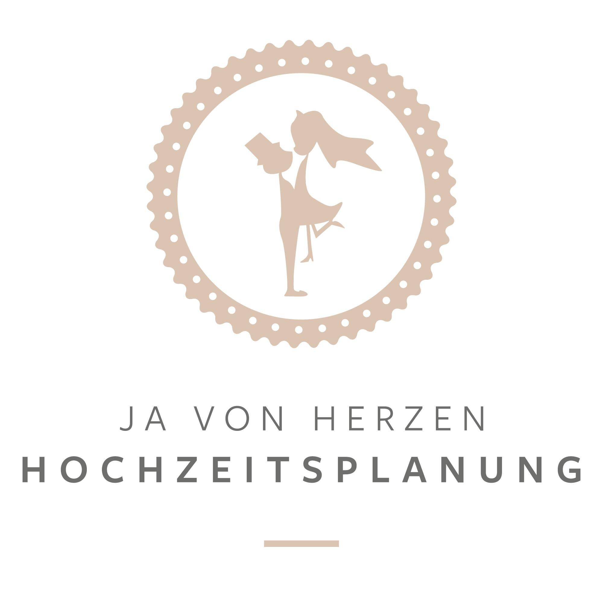 Logo Ja von Herzen Hochzeitsplanung