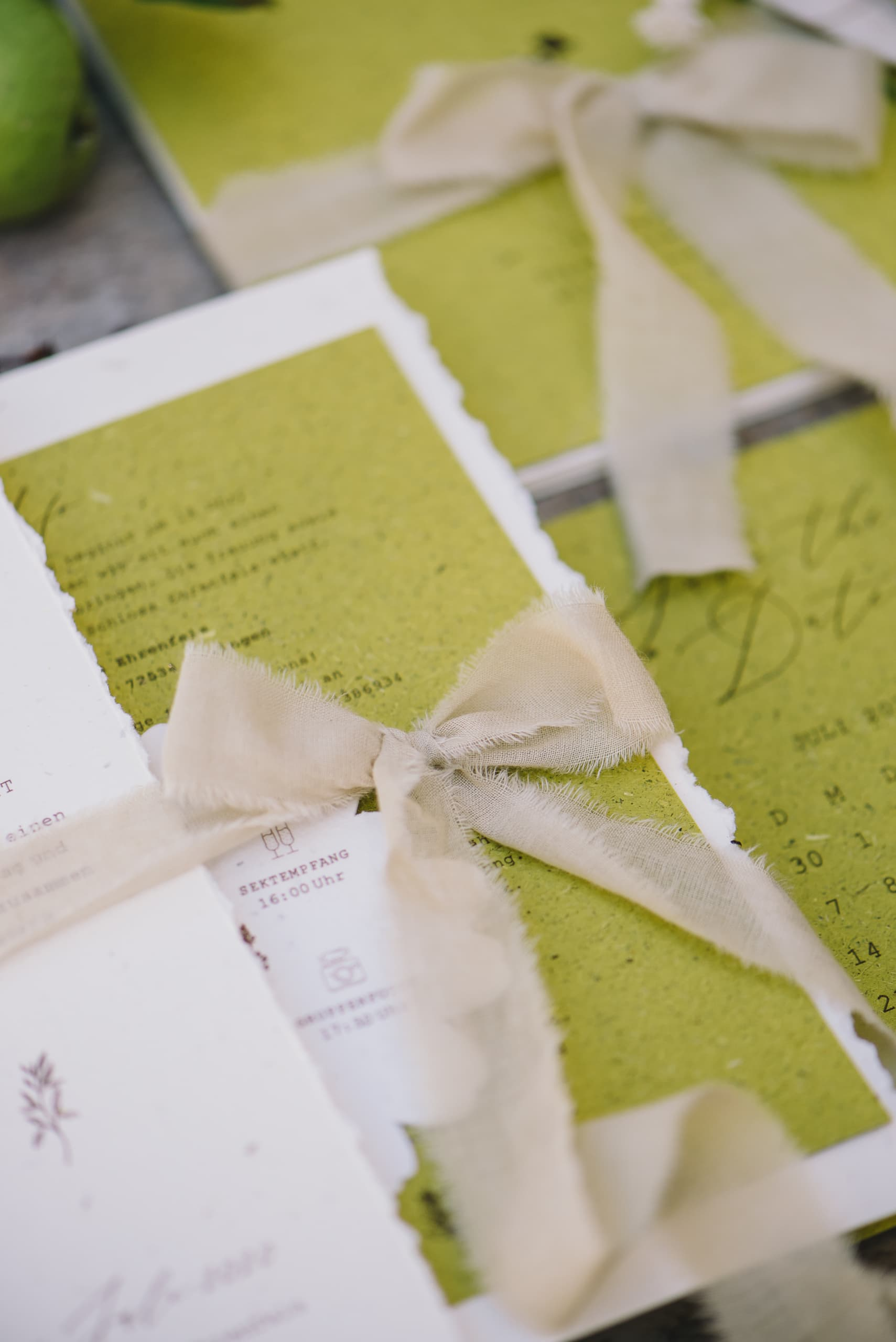 Miss Hanami Green Wedding