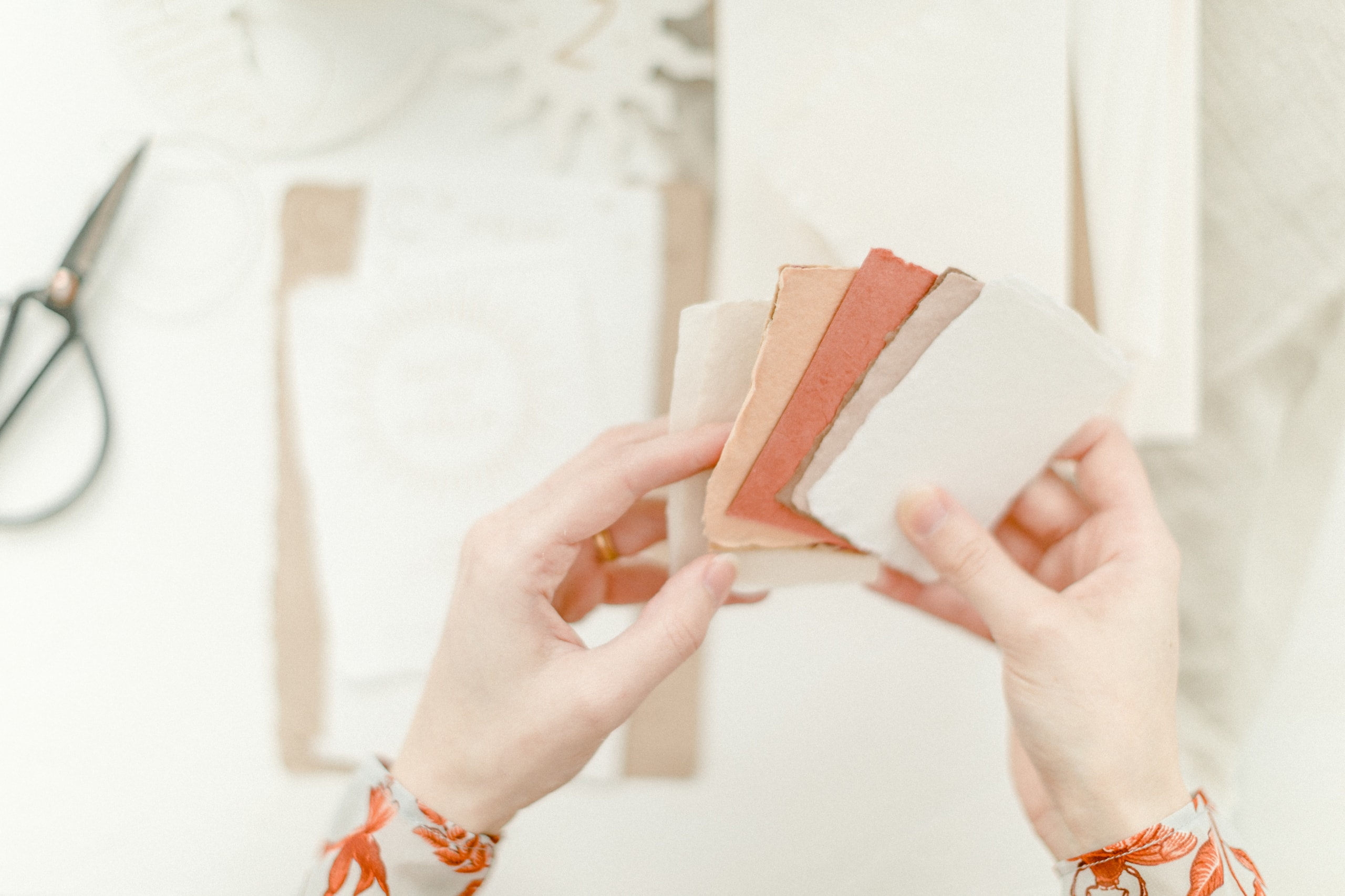 Hochzeitspapeterie Stuttgart handgeschöpftes Papier