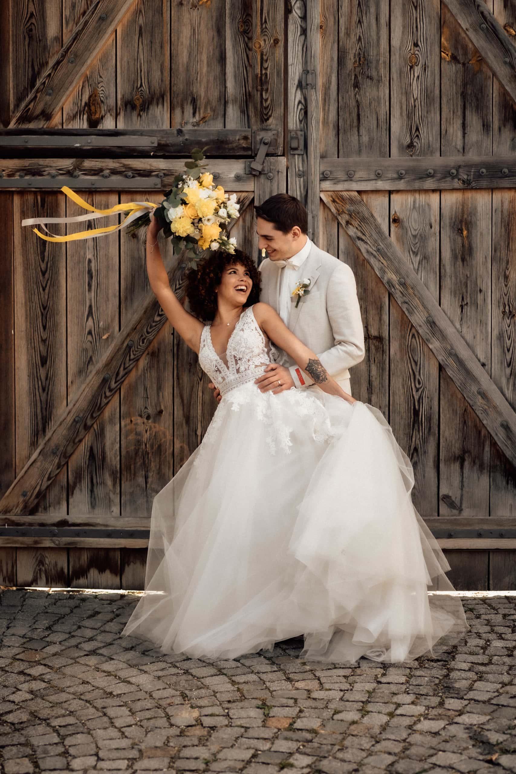 Nachhaltig heiraten Schloss Ehrenfels Brautstrauß MM