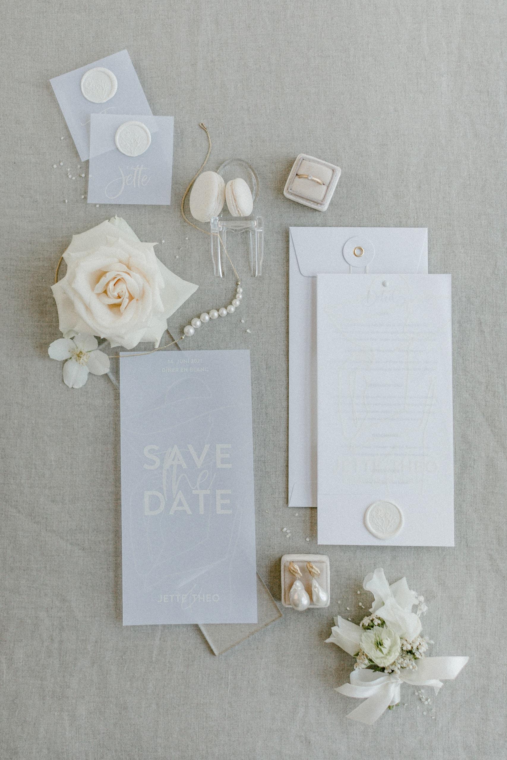 White Wedding Pour l'amour Fine Art Papeterie