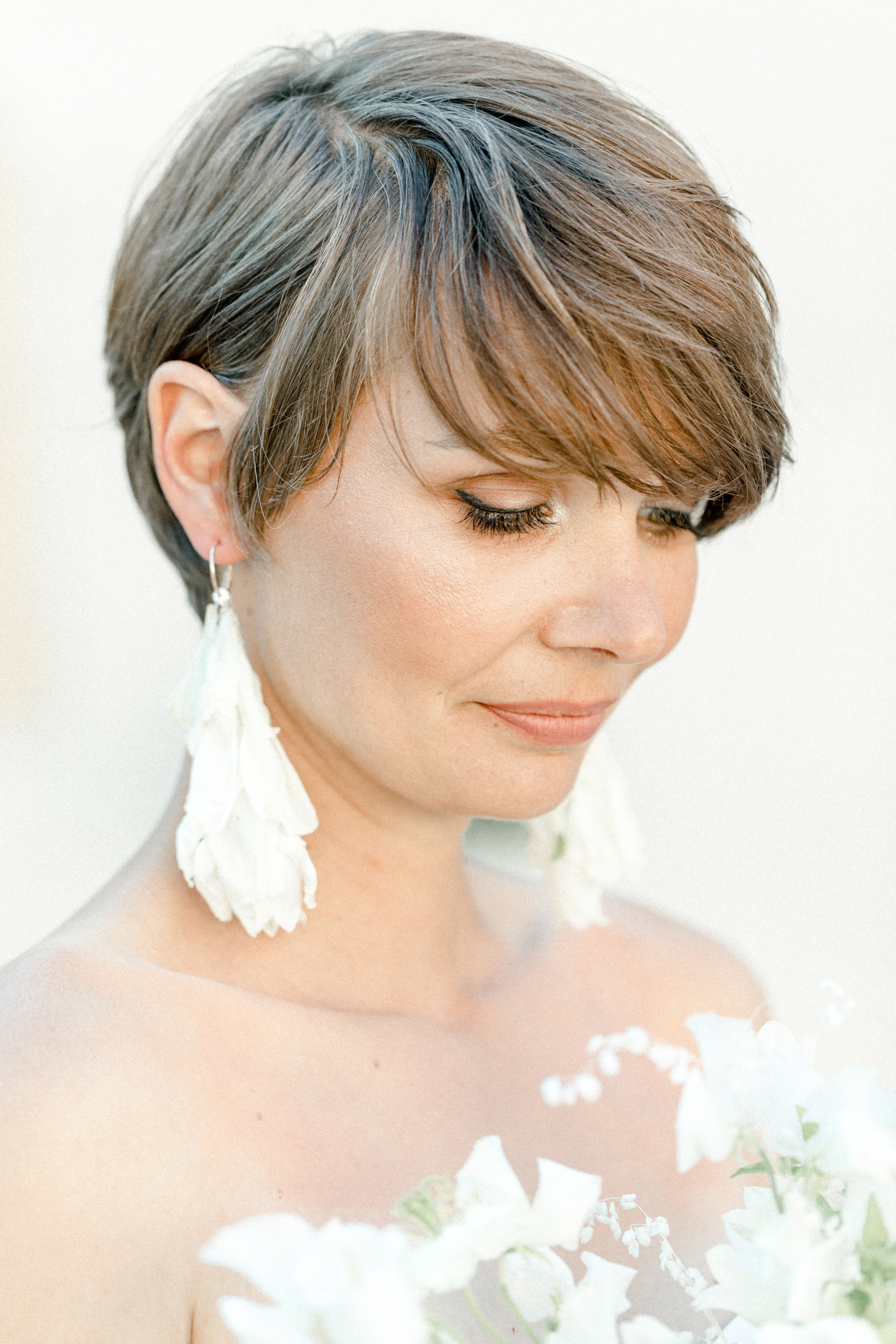 White Wedding Pour l'amour Jumpsuite zweiteiler