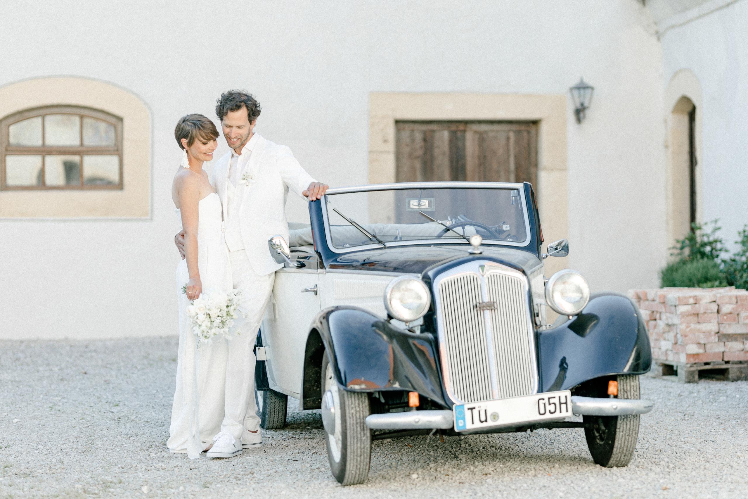 White Wedding Pour l'amour Oldtimer