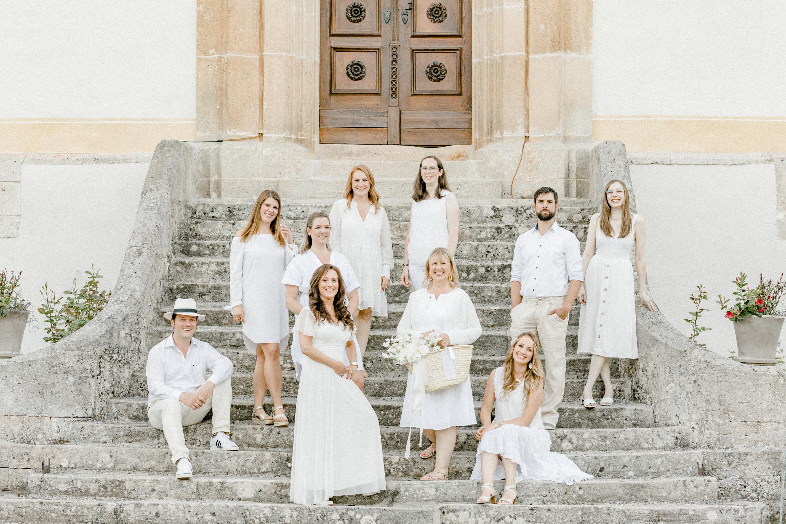 White Wedding Pour l'amour Fine Art Team