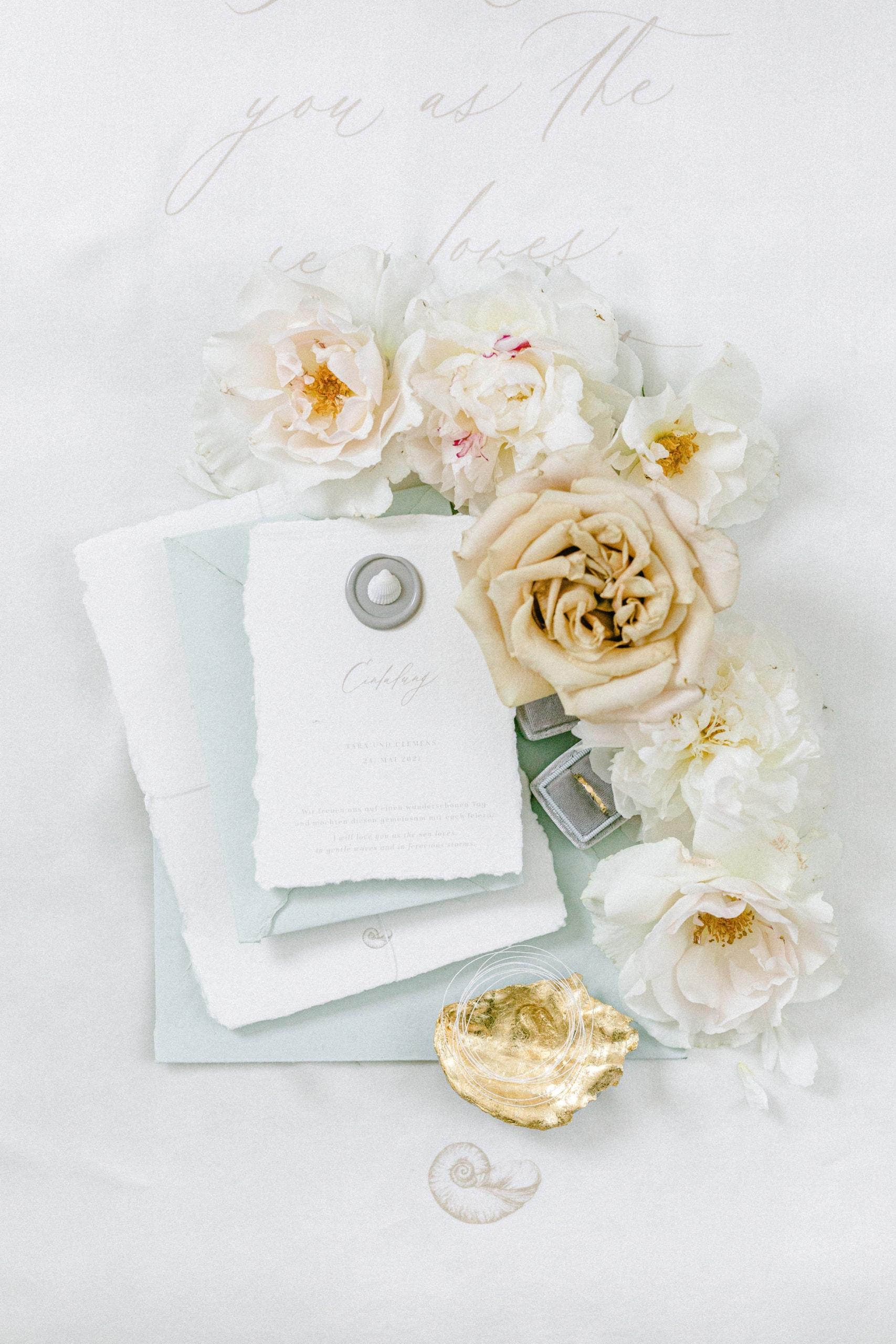 See Hochzeit Fine Art Hochzeitseinladung