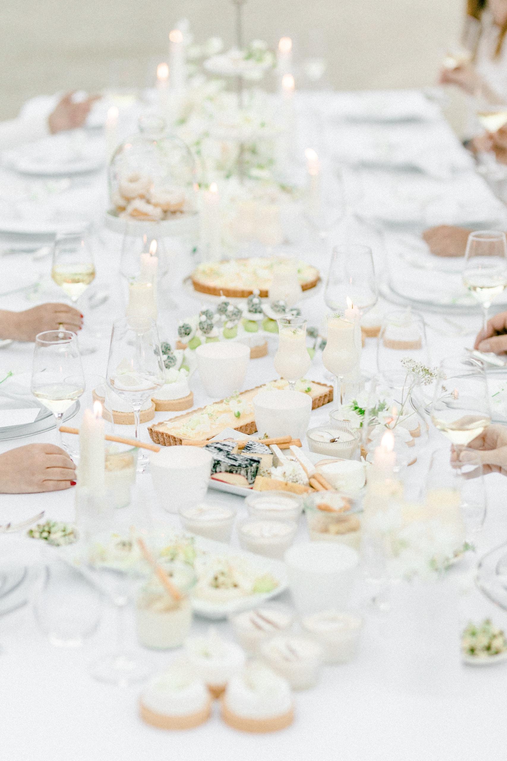 White Wedding Pour l'amour Fine Art Salty Table