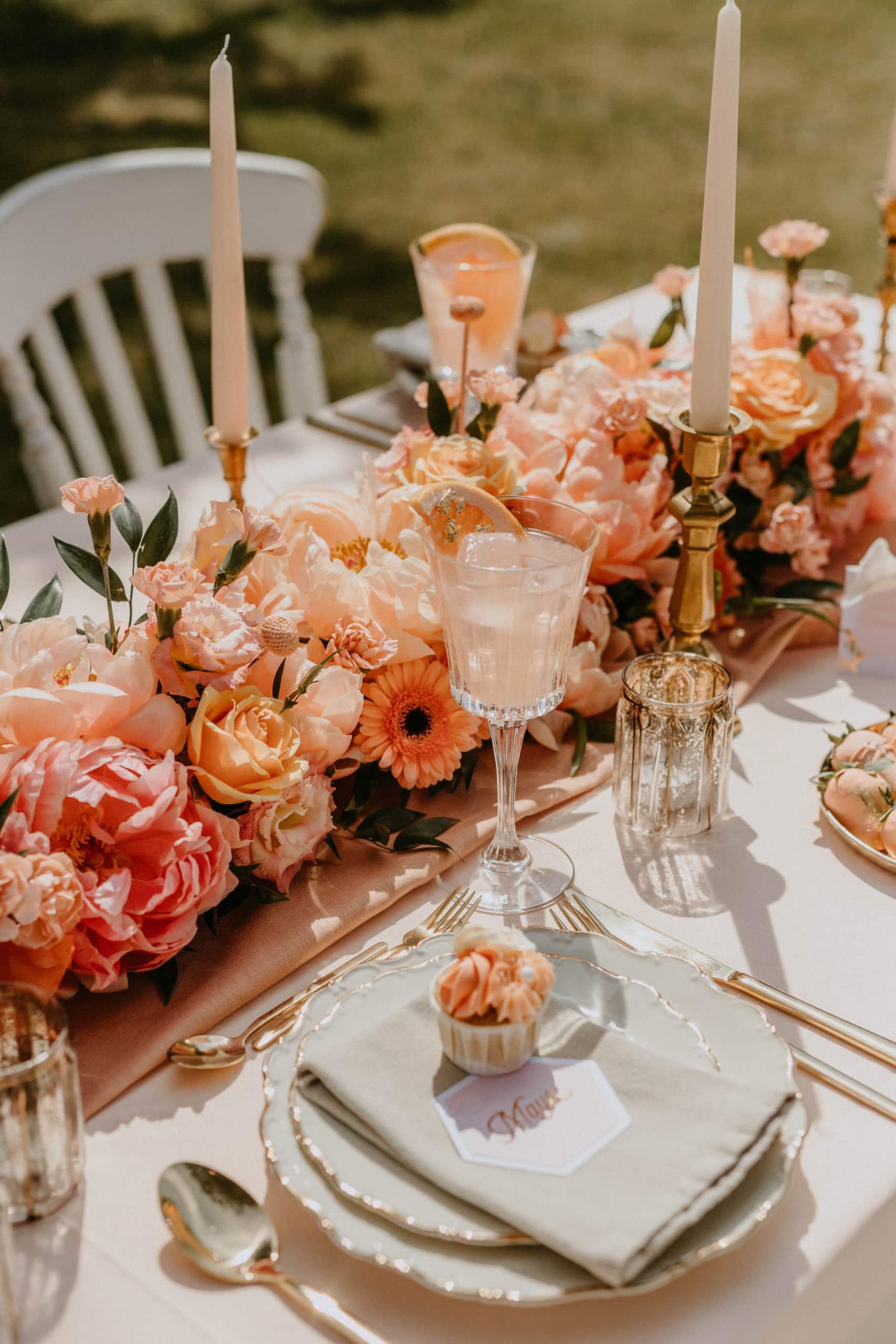 1 Table 3 Concepts Peach Blush Villa Glanzstoff Papeterie VG
