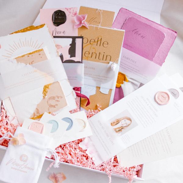 Musterbox Miss Hanami Papeterie & Design Hochzeitseinladung